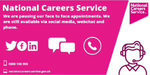 National careers service support image
