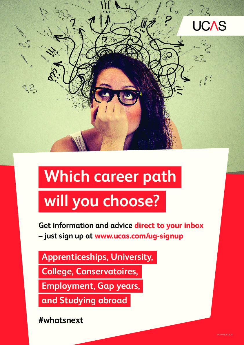 Exam results support 2020 ucas student poster what next