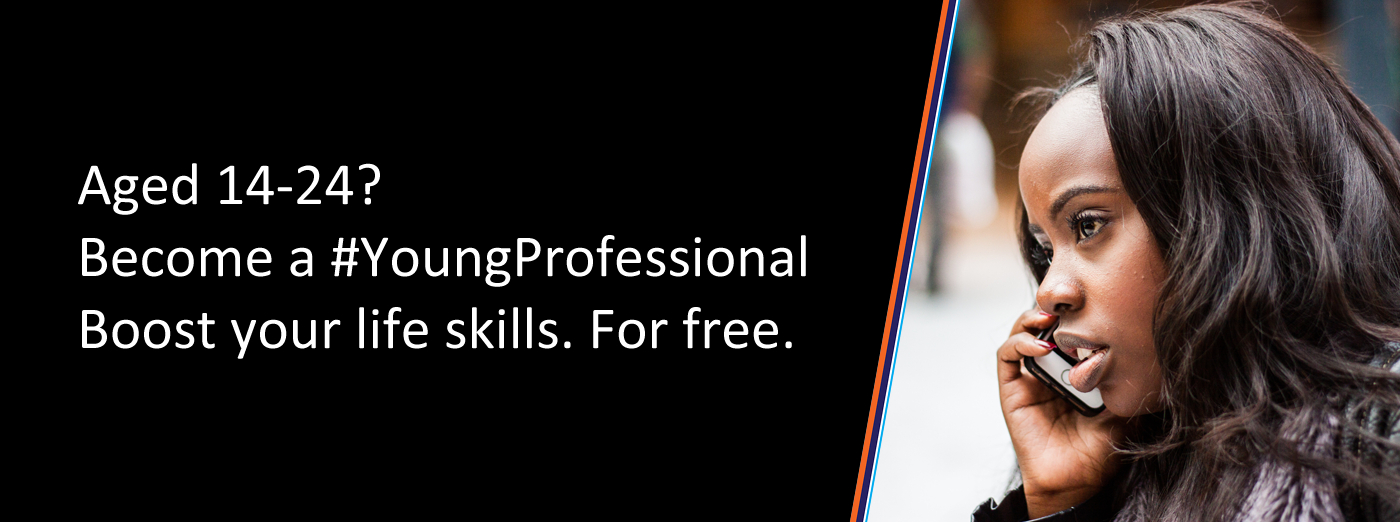 Become a young professional free skills program image