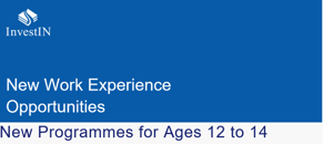 Online work experience programmes from investin for ages 12 to 14 image