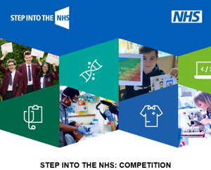 Step into the nhs competition image