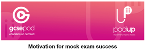 Mock exam support webinars videos and podcasts from gcse pod from 9th november image