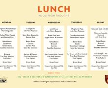 Kps week 2 menu
